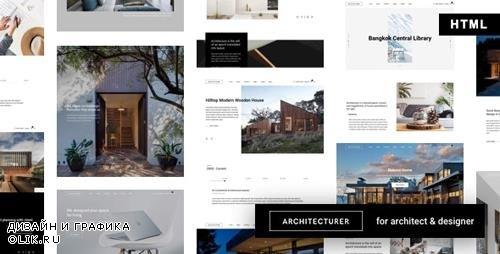 ThemeForest - Architecturer v1.0 - Interior Design HTML Template (Update: 1 August 19) - 24227055
