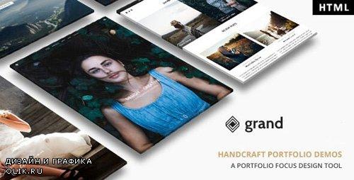 ThemeForest - Grand Portfolio v1.0 - HTML Template - 24468318
