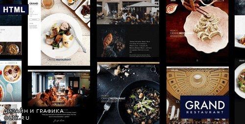 ThemeForest - Grand Restaurant v1.0 - HTML Template - 24839493