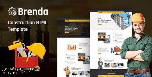 ThemeForest - Brenda v1.0 - Construction HTML5 Template - 24895796