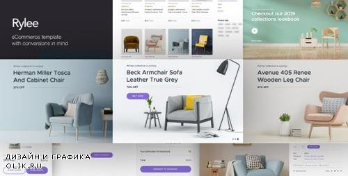 ThemeForest - Rylee v1.0 - eCommerce Business HTML Templates - 24895762