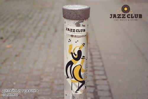 Urban Sign Mockup - 4179765
