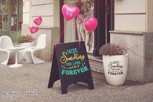 Slate Mockup for Love - 4179747