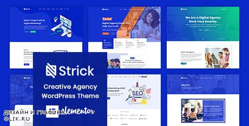 ThemeForest - Strick v1.0.2 - Creative Agency WordPress Theme - 23954710