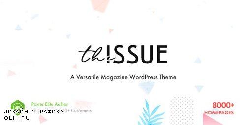 ThemeForest - The Issue v1.2.1.2 - Versatile Magazine WordPress Theme - 23448818 -