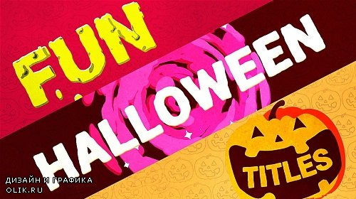 Fun Halloween Titles 303804 - After Effects Templates