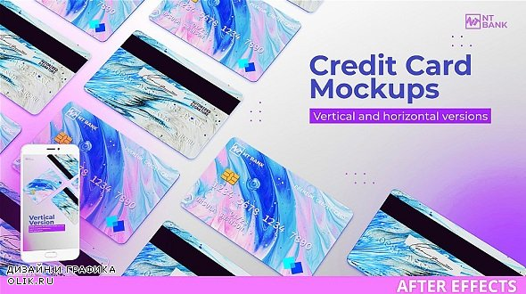 Credit Card Mockups and Promo 303523 - After Effects Templates