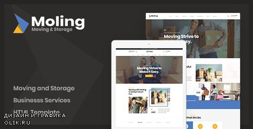 ThemeForest - Moling v1.0 - Moving and Storage Services HTML Template - 24581421
