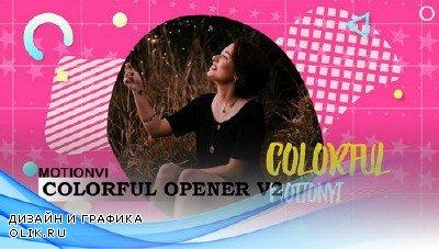 Проект ProShow Producer - Colorful Opener v2