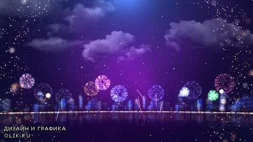 Videohive - Fireworks party - 24295713