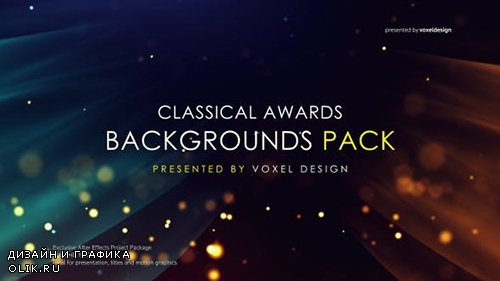 Videohive - Cinematic Classical Awards Backgrounds - 23992759