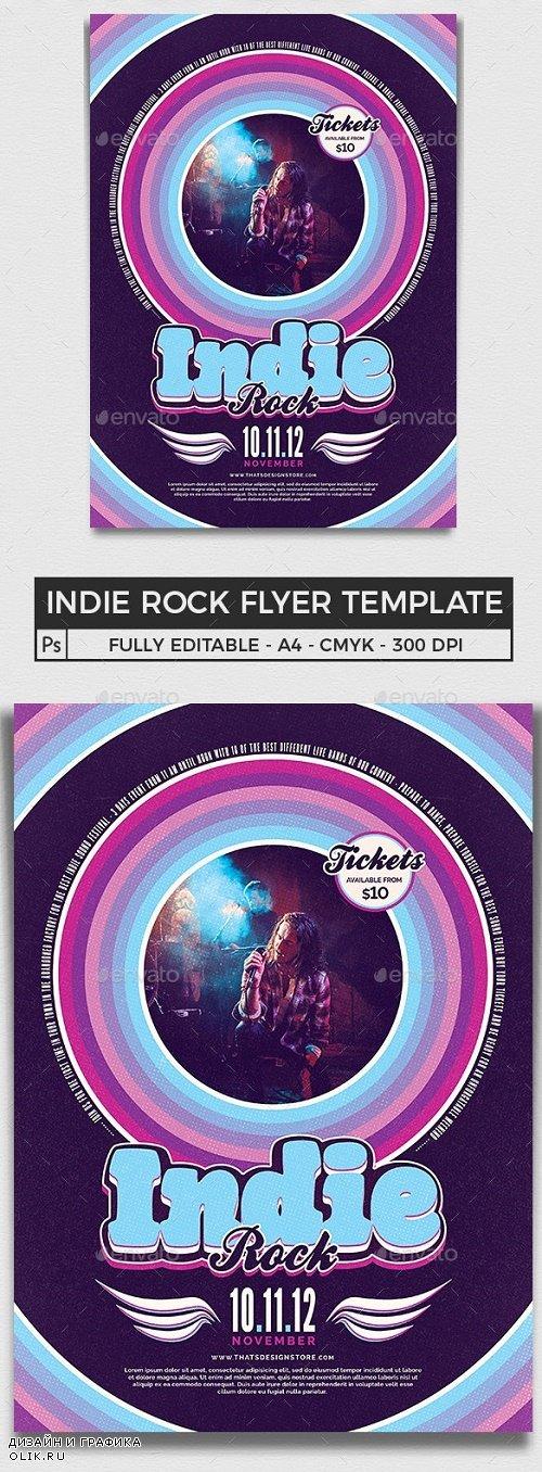 Indie Rock Flyer Template V5 - 24882755 - 4226244