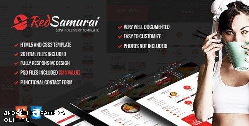 ThemeForest - Red Samurai HTML5 and CSS3 Responsive Template (Update: 1 November 19) - 10012709