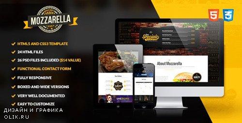 ThemeForest - Mozzarella - HTML5 and CSS3 Cafe Bar Template (Update: 1 November 19) - 9741023