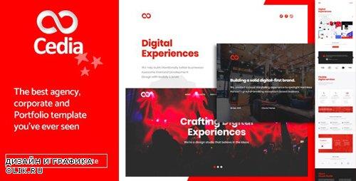 ThemeForest - Cedia v1.0 - Creative Agency, Corporate and Portfolio Multi-purpose Template - 23190867