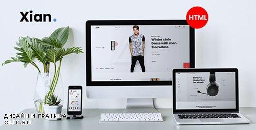 ThemeForest - Xian v1.0 - Multipurpose e-Commerce HTML Template - 24918228