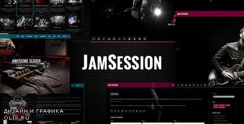 ThemeForest - JamSession v4.8.8 - Music WordPress Theme - 6542149