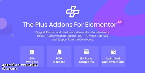 CodeCanyon - The Plus v2.0.8 - Addon for Elementor Page Builder WordPress Plugin - 22831875 -