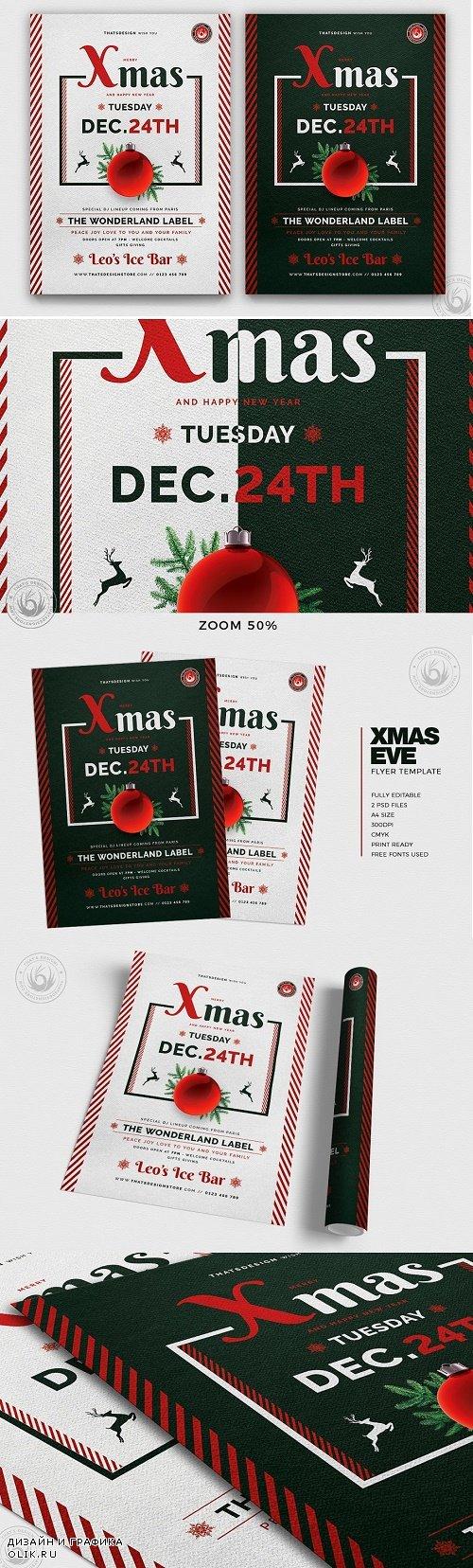 Christmas Eve Flyer Template V12 - 4272738