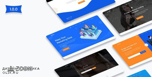 ThemeForest - Zooki v1.0 - Landing Page Template - 23572746