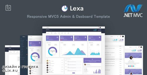 ThemeForest - Lexa v1.0 - MVC5 Admin & Dashboard Template - 24195486