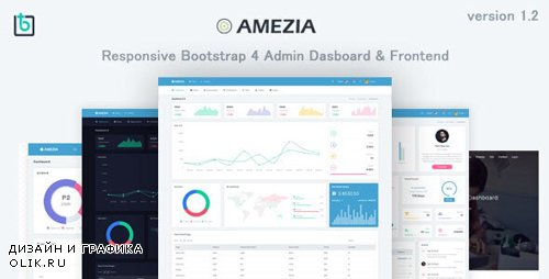 ThemeForest - Amezia v1.2 - Responsive Admin & Dashboard Template - 22607274