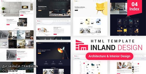 ThemeForest - Inland Design v1.0 - Responsive HTML Template - 24913915