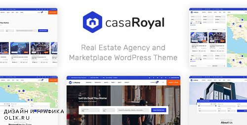 ThemeForest - casaRoyal v1.1.3 - Real Estate WordPress Theme (Update: 30 October 19) - 22662762