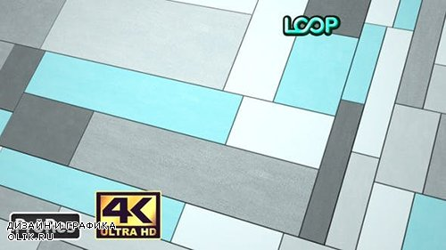 Videohive - Sliding Rectangles Surface 1 - Abstract Geometry - 4K - 25006154