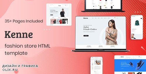 ThemeForest - Kenne v1.0.1 - Fashion Store HTML Template - 24981910