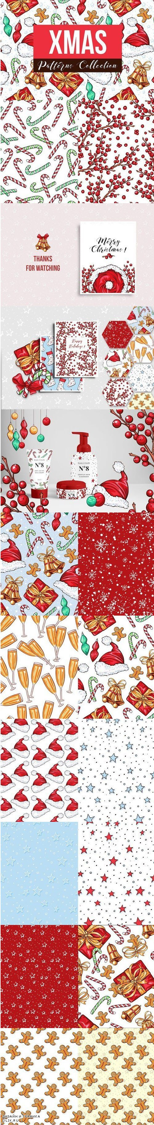 Big Xmas Patterns Collection - 3981105