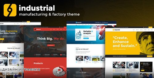 ThemeForest - Industrial v1.3.1 - Corporate, Industry & Factory - 18939815