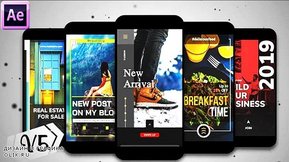 Instagram Stories Collection I V5 320353 - After Effects Templates