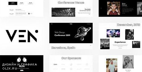 ThemeForest - Ven v1.0 - Creative Event and Conference Template - 24942212