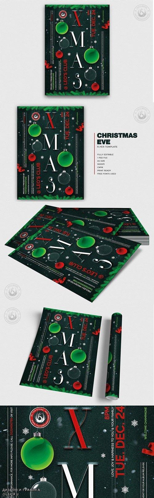 Christmas Eve Flyer Template V13 25020105 - 4278476