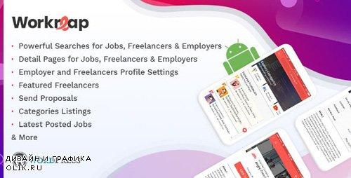 CodeCanyon - Workreap Android APP v1.0.0 - WordPress Freelance Marketplace - 23888855