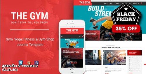 ThemeForest - TheGym v1.0.0 - Yoga, Fitness & Accessories Shop Joomla Template - 23782988