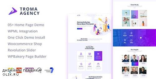 ThemeForest - Troma v1.1.3 - Creative Digital Agency WordPress Theme - 22823313