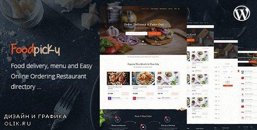 ThemeForest - Food Delivery Restaurant Directory WordPress Theme - FoodPicky v1.27 - 17966079
