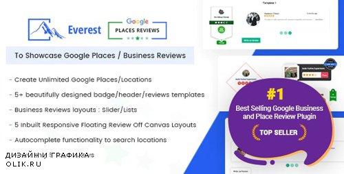 CodeCanyon - Everest Google Places Reviews v2.0.8 - 20686119