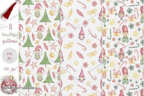 Christmas Gnomes Collection - 3974021