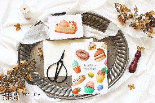 Dessert hand drawn clipart - 3019903