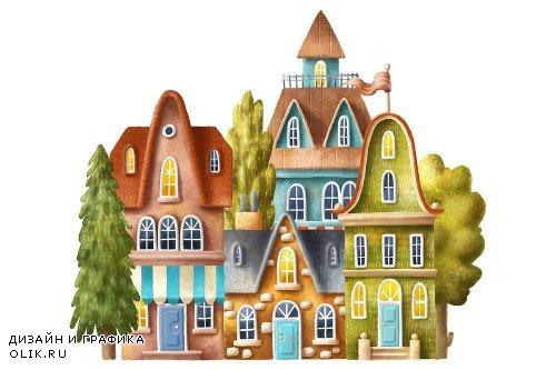 Set of houses - 2550268