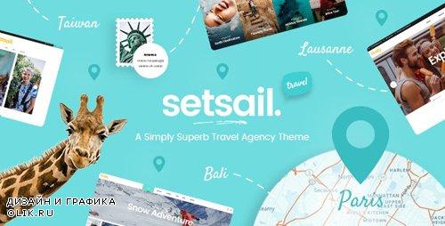 ThemeForest - SetSail v1.3.2 - Travel Agency Theme - 22832625