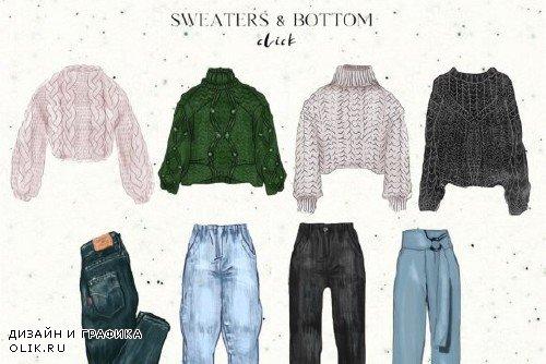 Wardrobe - fashion clothes set 4295966