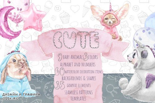 Cute Baby Unicorn Collection - 3698662