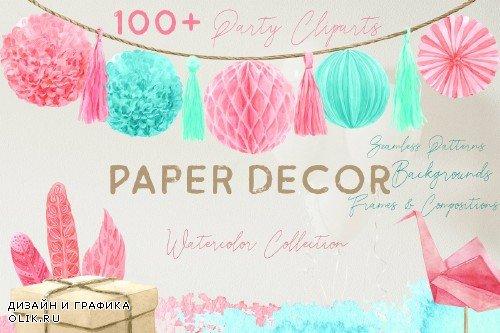Paper Decor Watercolor Collection - 3788034