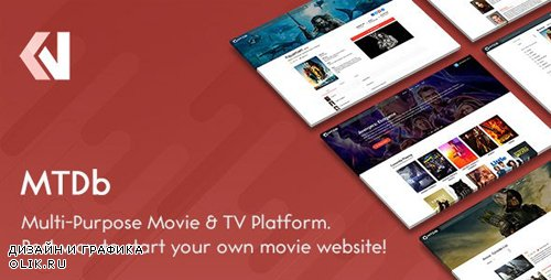 CodeCanyon - MTDb v3.2.0 - Ultimate Movie&TV Database - 6447206