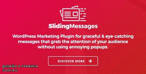 CodeCanyon - WordPress Marketing Plugin - Sliding Messages v3.1 - 7742759