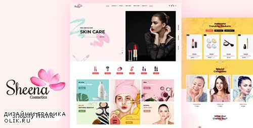 ThemeForest - Sheena v1.0 - Beauty Shop Shopify - 24824853